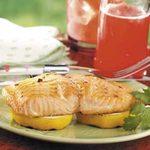Lemony Grilled Salmon