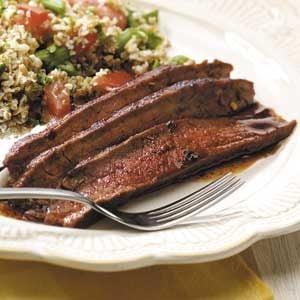 Hot 'n' Spicy Flank Steak