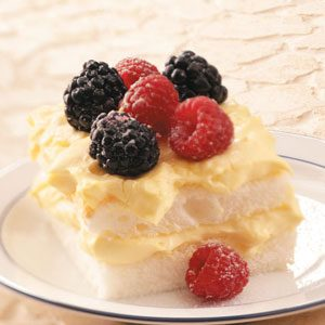 Double Berry Lemon Dessert