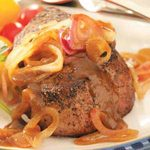 Steaks with Shallot Sauce