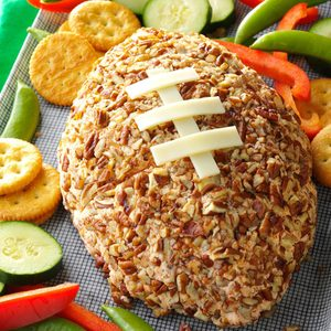 Ham-Cheddar Cheese Ball