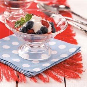 Berry Yogurt Cups