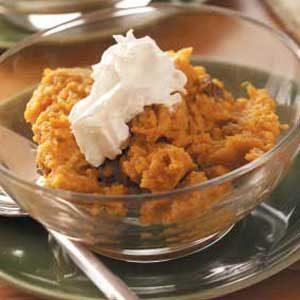 Sweet Potato Pudding