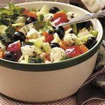Peppery Vegetable Salad