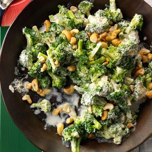 Creamy Broccoli with Cashews