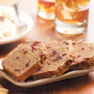 Cranberry Chai Bread