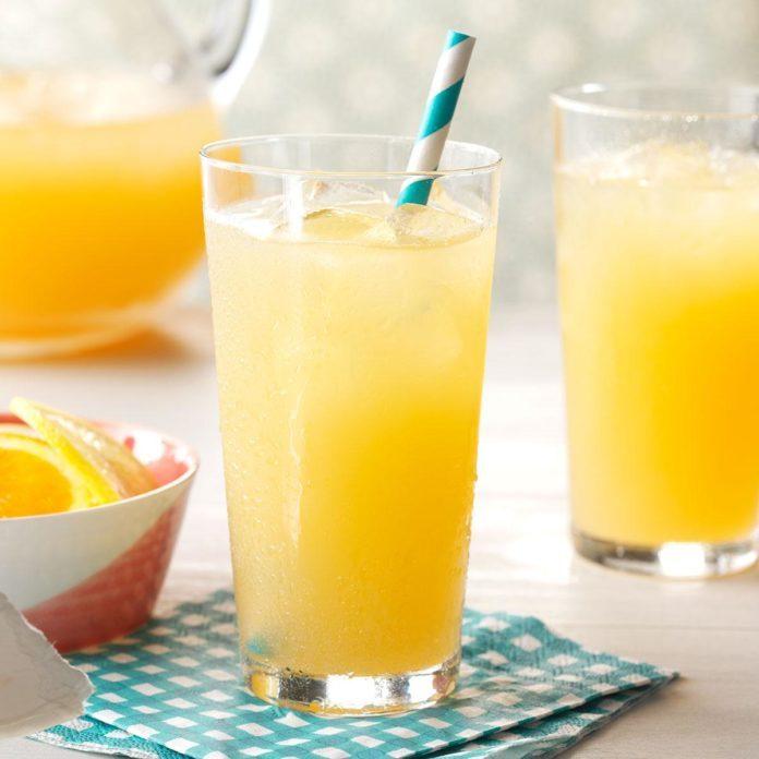 Rhubarb Citrus Punch