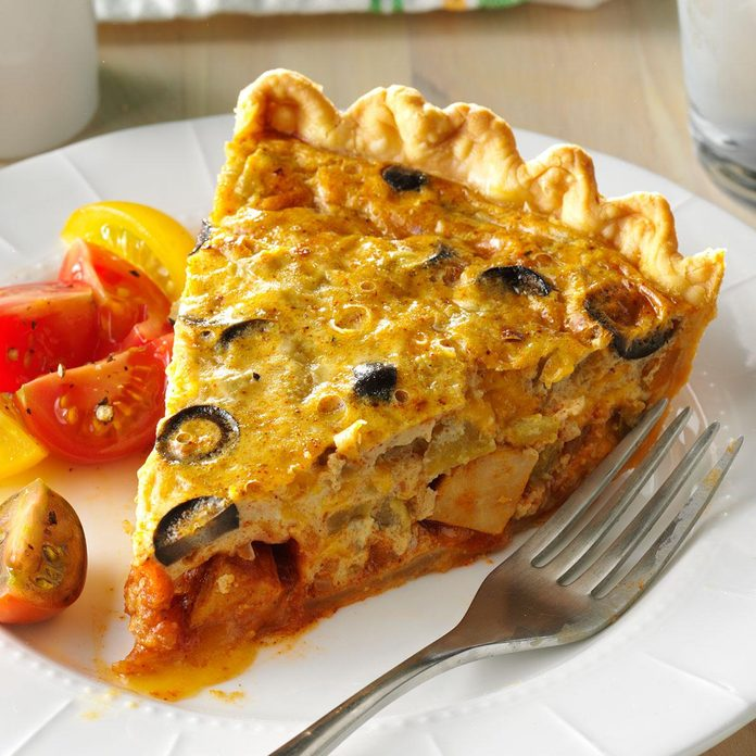 Chicken Taco Quiche