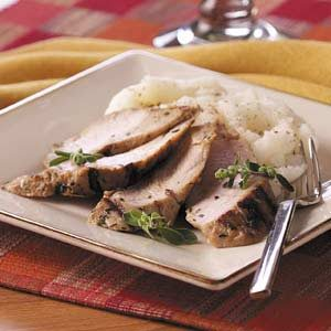 Grilled Herbed Turkey Tenderloins