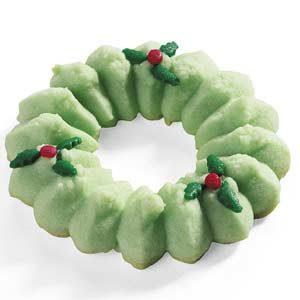 Holiday Spritz Wreaths