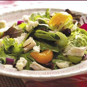 Turkey Tossed Salad
