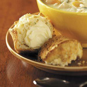 Parmesan Walnut Muffins