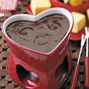 Chocolaty Mocha Fondue