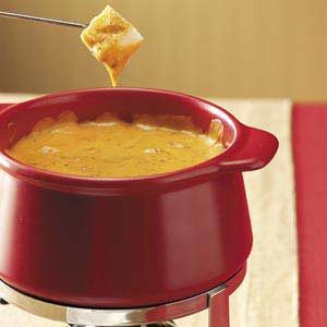 Cheddar Cheese Pizza Fondue