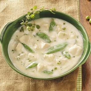 Lemon-Chicken Velvet Soup