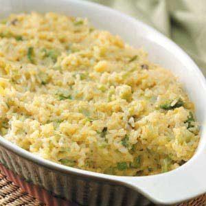 Rice Broccoli Casserole