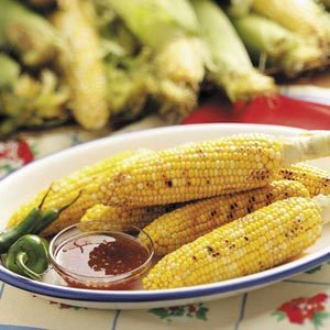 Smoky Grilled Corn