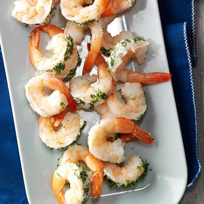 Blue Cheese-Stuffed Shrimp