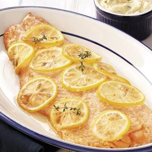 Hickory Barbecued Salmon with Tartar Sauce