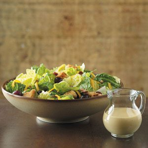 Makeover Chicken Romaine Salad