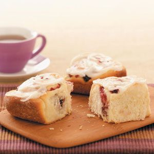 Makeover Cranberry Rolls
