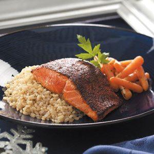 Pan-Seared Chili Salmon