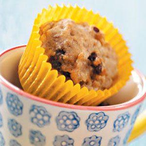 Banana Date-Nut Mini Muffins
