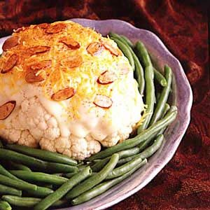 Cauliflower with Almonds