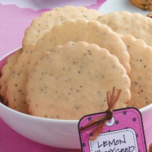Tangy Lemon Poppy Seed Cookies