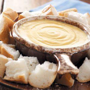 French Onion Cheese Fondue