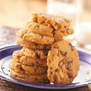 Pecan Butterscotch Cookies