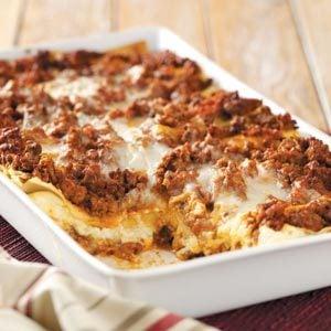 Six-Cheese Lasagna