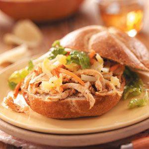 Singapore Satay Sandwiches
