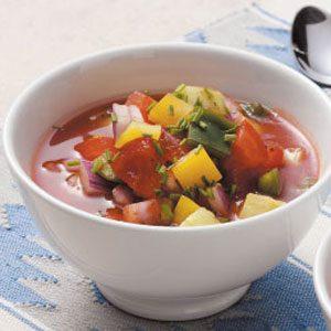 Healthy Gazpacho for 2