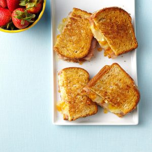Ham and Brie Melts