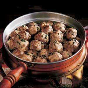 Meatballs and Gravy