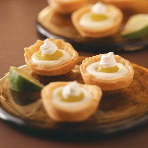 Lime Tartlets