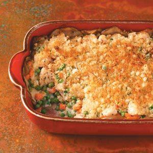 Potato-Crusted Chicken Casserole