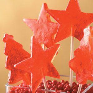 Cinnamon Lollipops