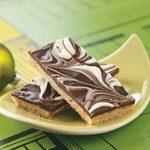 Chocolate Swirled Bars