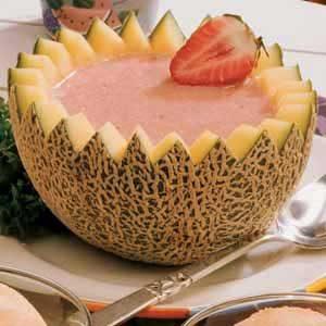 Summertime Melon Soup