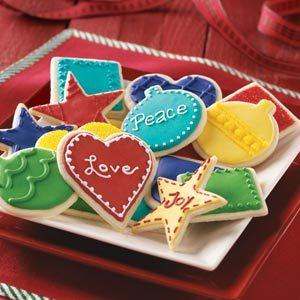 Festive Butter Cookies