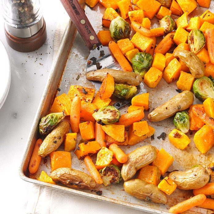 Roasted Vegetables with Sage