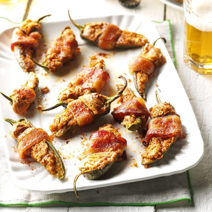 Sweet & Spicy Jalapeno Poppers