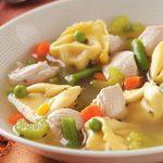 Chicken Tortellini Soup