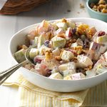Quick Crunchy Apple Salad