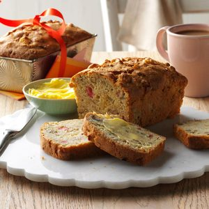 Apple-Rhubarb Bread