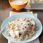 Creamy Garlic-Lemon Chicken
