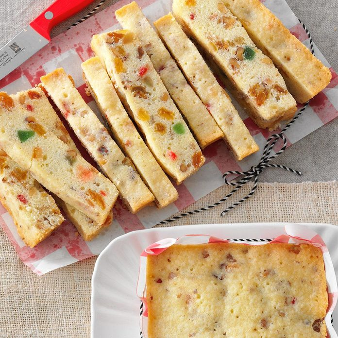 Holiday White Fruitcake
