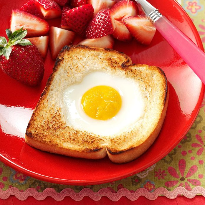 Inspired By: Cracker Barrel's Eggs-in-the-Basket